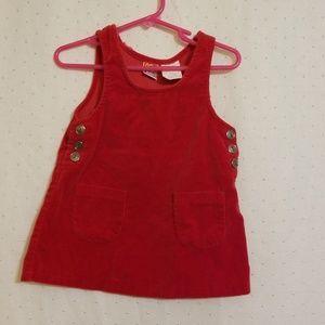Vintage | MC Kids Red Velvet Dress